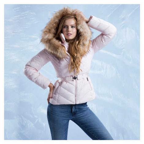 Guess dámská zimní růžová bunda