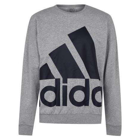 Adidas Mens Favorite Pullover Sweatshirt Loose
