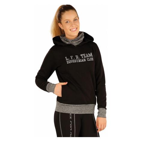 LITEX Mikina dámská s kapucí. J1232901 černá