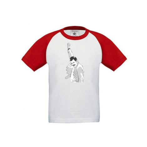 Dětské tričko baseball Freddie Mercury