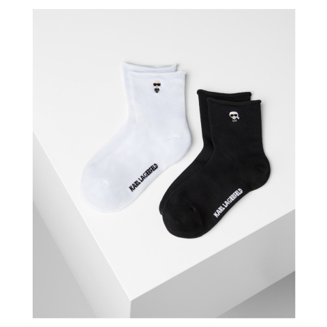 Ponožky Karl Lagerfeld K/Ikonik Sock 2-Pack - Různobarevná