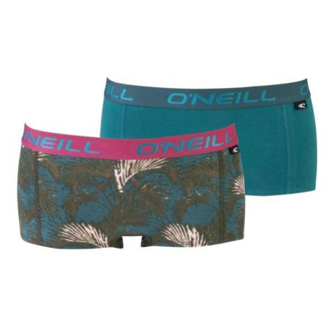 O'Neill HIPSTER WITH DESIGN 2-PACK růžová - Dámské spodní kalhotky