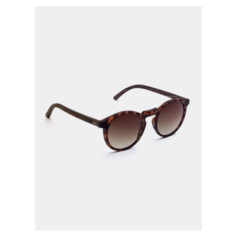 Dřevěné sluneční brýle Emma Take A Shot