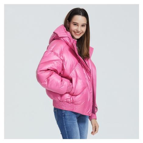 Dámská zimní bunda do pasu B664 FashionEU
