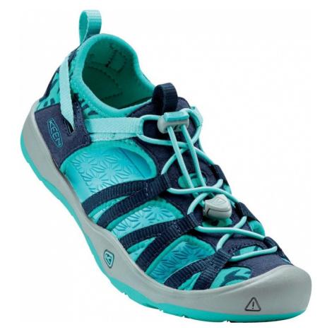 Dětské sandály Keen Moxie Sandal Youth dress blues/viridian