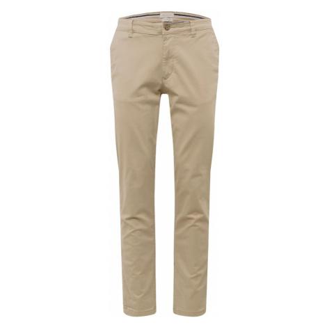 SELECTED HOMME Chino kalhoty světle béžová