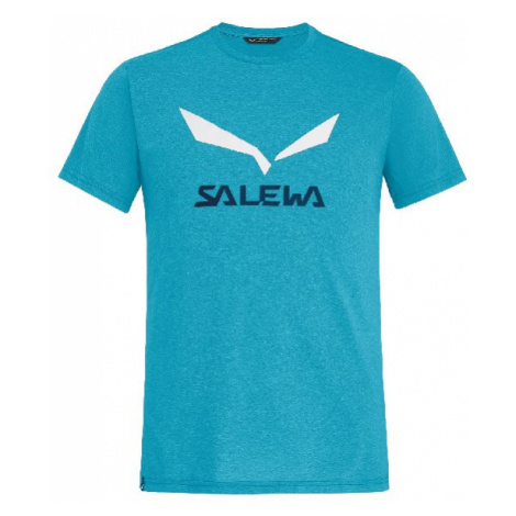 Salewa triko Solidlogo Dri-Rel M S/S, modrá