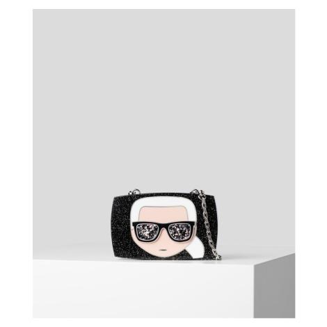 Kabelka Karl Lagerfeld Ikonik Karl Glitter Minaudiere