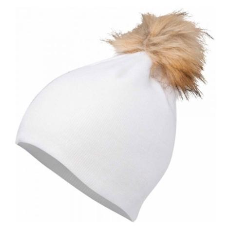 Lewro BIBAREL bílá - Dívčí pletená čepice