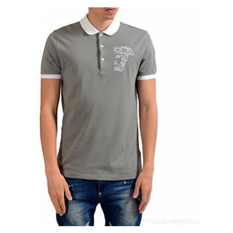 VERSACE COLLECTION pánské tričko s bílým logem Medúzy
