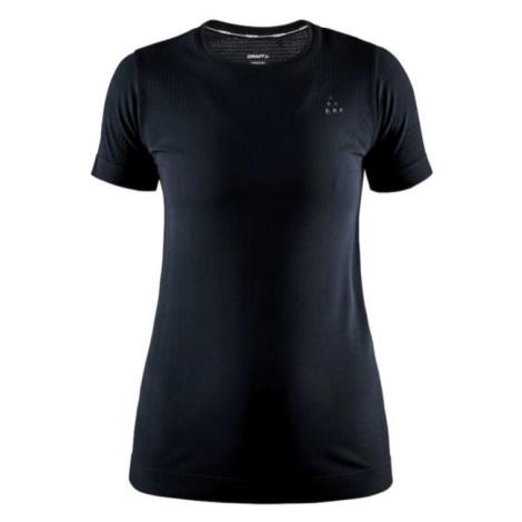 Dámské tričko CRAFT Fuseknit Light S / S Black