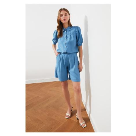 Trendyol Blue Basic Shorts & Bermuda