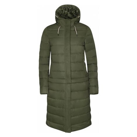 Kira zelená dámský kabát ALPINE PRO