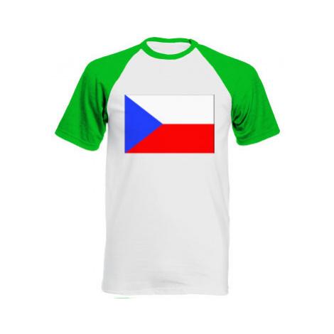 Pánské tričko Baseball Česká republika