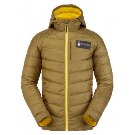 Spyder M TEAM TIMELESS hnědá - Zimní bunda