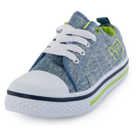 Dětská obuv Alpine Pro SAIRO - modro-šedá