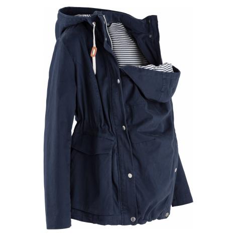 Těhotenská a nosící bunda na přechodné období Bonprix