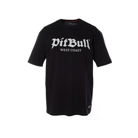 Triko PitBull West Coast Old Logo pánské černé