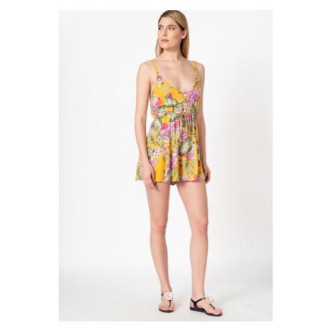 Guess GUESS dámský květinový overal Short Jumpsuit