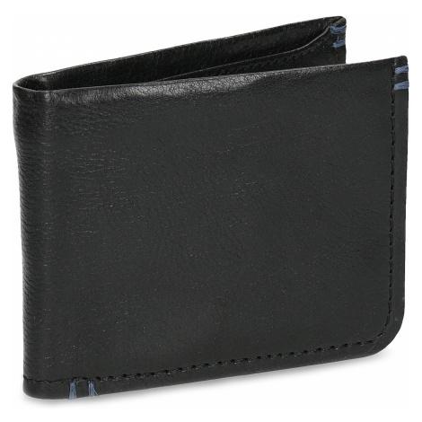 Kožená černá pánská peněženka Baťa