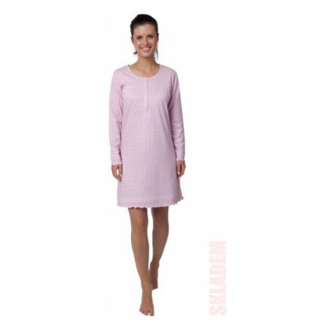 Dámská noční košile - CALVI 18-356, růžová