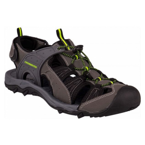 Crossroad MOHAN šedá - Pánské sandály