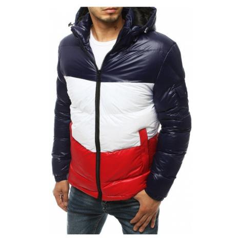 Dstreet Moderní granátová zimní bunda