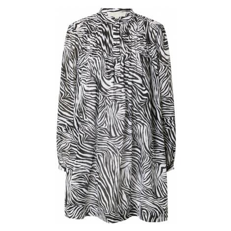 MICHAEL Michael Kors Košilové šaty bílá / černá