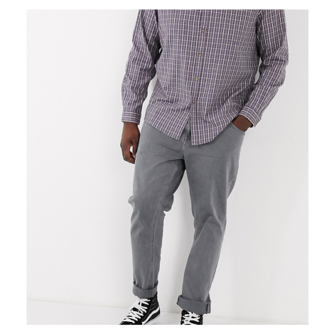 ASOS DESIGN Plus slim jeans in vintage grey