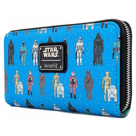 Star Wars Loungefly - akcné figúrky Peněženka vícebarevný