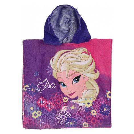 Ledové království - dívčí ručník s kapucí Disney