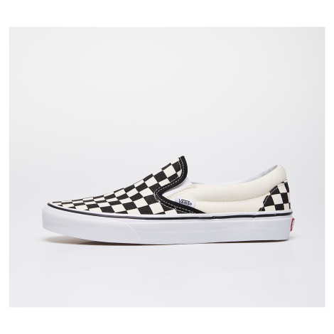 Vans Classic Slip-On Black & White Checkerboard/ White
