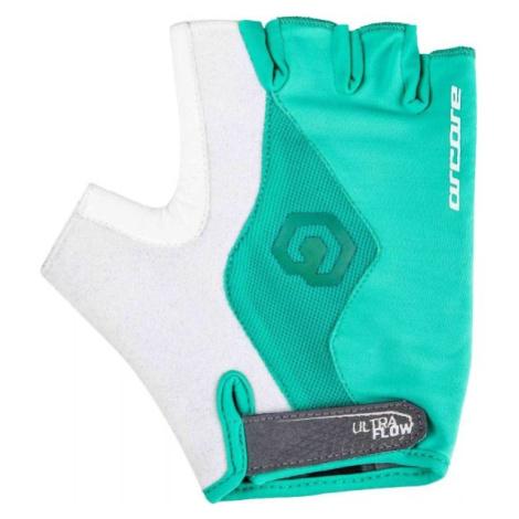 Arcore SOLO šedá - Krátkoprsté cyklistické rukavice