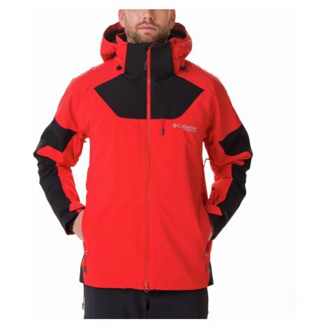 Bunda Columbia Powder Keg™ III Jacket - červená, černá