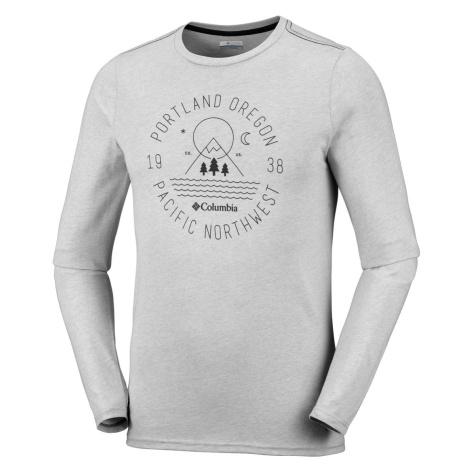 Tričko Columbia ill Creek™ Long Sleeve Tshirt - šedá