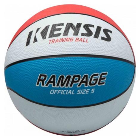 Kensis RAMPAGE5 bílá - Basketbalový míč