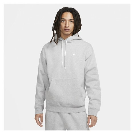 Nike Nrg SoloSwoosh Hoodie Fleece Dk Grey Heather/ White