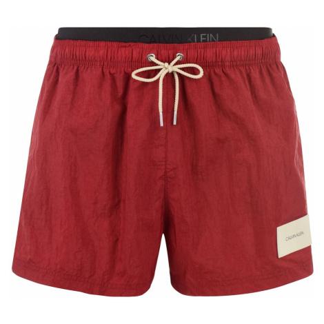 Calvin Klein Waistband Patch Swim Shorts