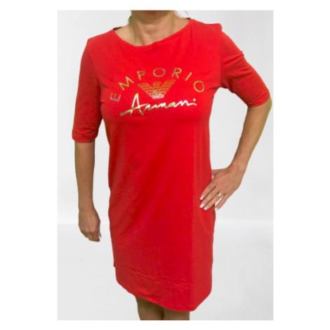Dámské šaty Emporio Armani 164333 0P291 červená   červená