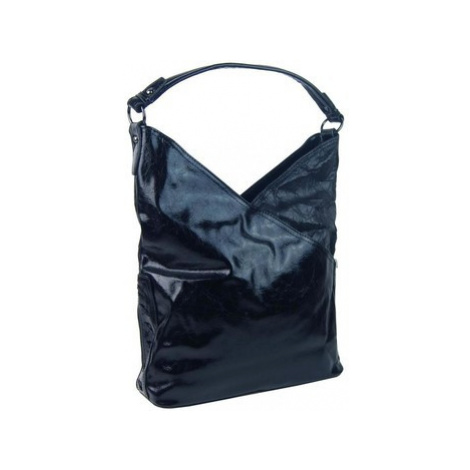 Bella Belly Moderní dámská kabelka přes rameno 5140-BB tmavě modrá Modrá