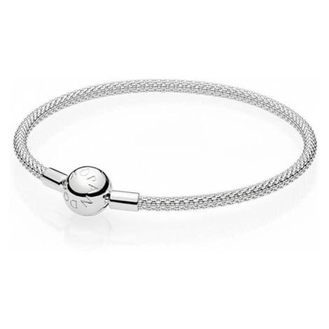 Pandora Pevný stříbrný náramek 596543cm