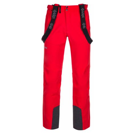 KILPI Pánské lyžařské kalhoty - větší velikosti RHEA-M LMX034KIRED Červená