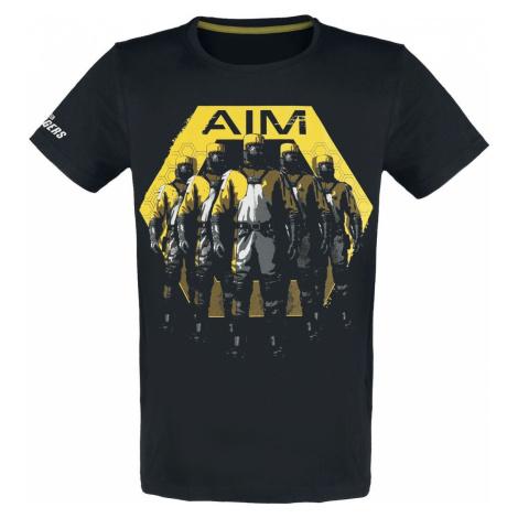 Avengers The Game - AIM Tričko černá