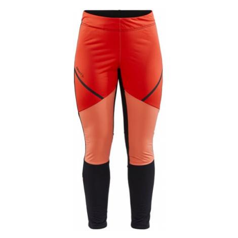 Dámské kalhoty CRAFT Glide Wind Tights oranžová