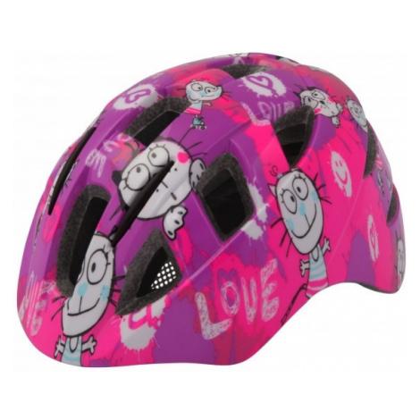 Etape KITTY růžová - Dětská cyklistická helma