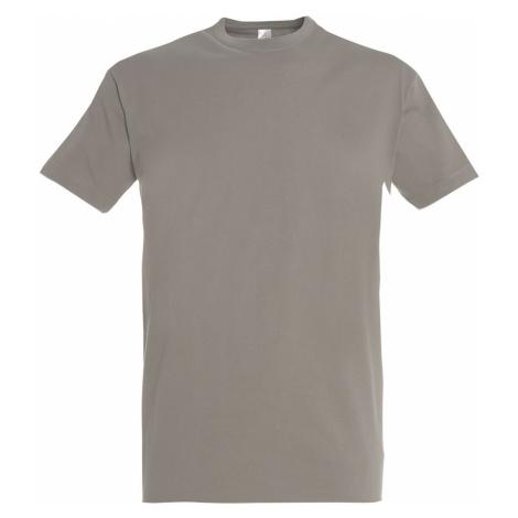 SOĽS Pánské triko s krátkým rukávem IMPERIAL 11500380 Light grey