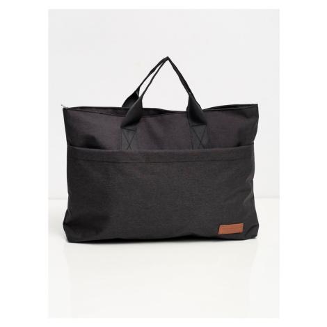 Large black laptop bag Fashionhunters