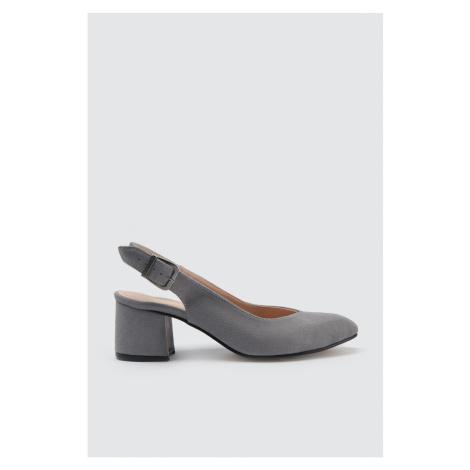 Trendyol Stone Suede Women's Classic Heels