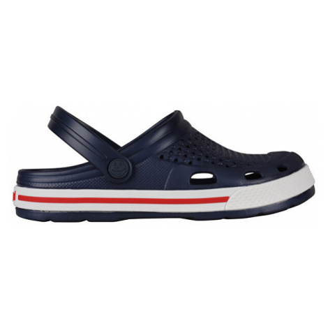 Coqui Dámské pantofle Lindo Navy/White 6413-100-2132