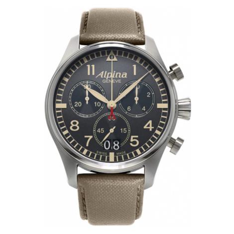 Alpina Startimer Pilot Big Date Chronograph AL-372BGR4S6